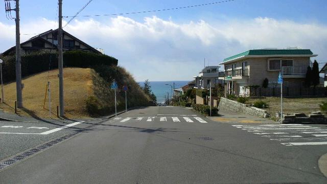 七里ガ浜の坂
