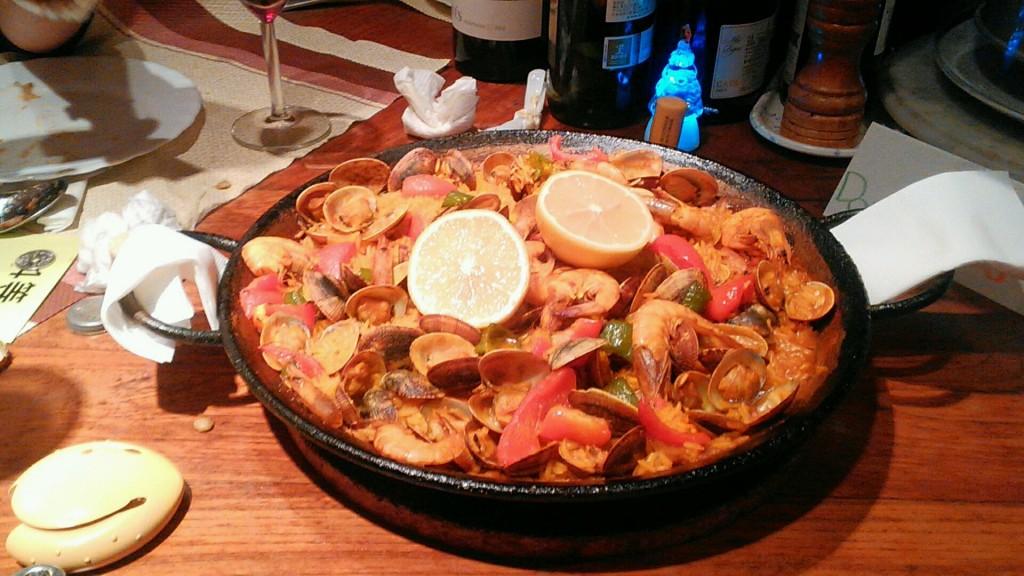 スペイン料理_パエリア